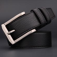 2016 Fashion Men Belt High Quality Brand Genuine Leather Belt Men Vintage Belt 2Colors Mens Luxury Waist Strap(China (Mainland))