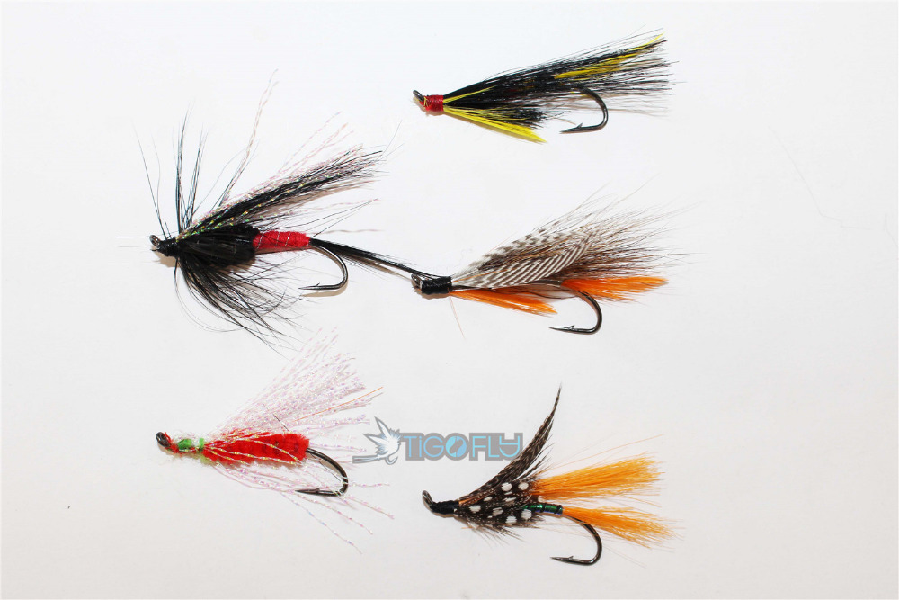 Free shipping 20 pcs assorted winged feather butterfly for Fly fishing feathers