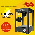 1000mw Miniature Electric Laser Engraving Machine Alloy Laser Engraver Household DIY Mini USB Printer Equipment vs