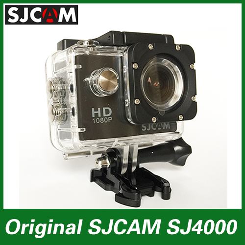Original SJCAM sj4000 Sport Action Camera Diving 30M Waterproof extreme Helmet mini Camcorder HD 1080P 12MP Go pro style Camera(China (Mainland))