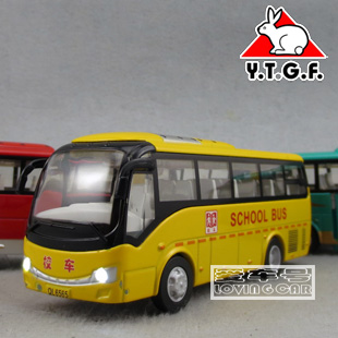 Plain good bus school bus alloy WARRIOR toy car model