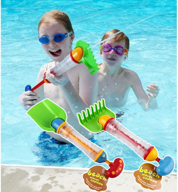 2015 new water toys arrived baby elc shovel spraying/sand playing tool child bath toy beach plastic gift - I love store