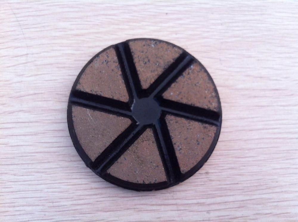Circle Diamond Polishing Pad 3 inch (80 mm) Ceramic Resin Bond Abrasive Polishing Wheel for Ceramic Porcelain Foor Dry or Wet(China (Mainland))