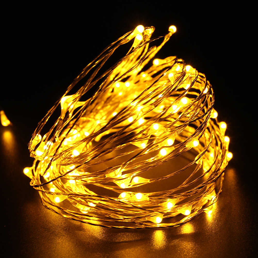 Tanbaby 10M 100 LED outdoor copper Led String light waterproof DC12V festival Christmas party ...