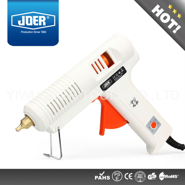 1pc/lot JOER Hot Melt Glue Gun Adjustable Temperature 140 220 Degree,,CE Approved - Yiwu Joer Tools Co., Ltd. store