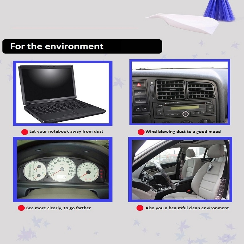 xuan dream car interior cleaning brush air vent cleaning vent brush dashboard brush car. Black Bedroom Furniture Sets. Home Design Ideas