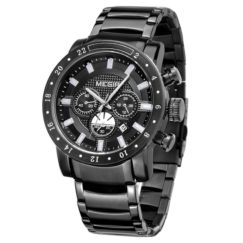 aliexpress buy megir chronograph 6 24 hours