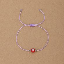 グラム。YCX お守りカバラコード調節可能なロープのブレスレットカップルペアラッキー赤保護ブレスレット誕生日プレゼント(China)
