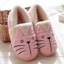 Nette Katze Warme Stiefel Frauen Familie Weihnachten Baumwolle Winter Schuhe Frauen boot Dropshipping(China)