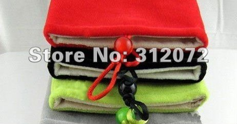 10pcs/lot Universal 7 inch Cloth Bag/covers/Plush bag/Protection bags for tablet pc/GPS/E-BOOK/MP5/PSP/camera/mobile phone/HDD