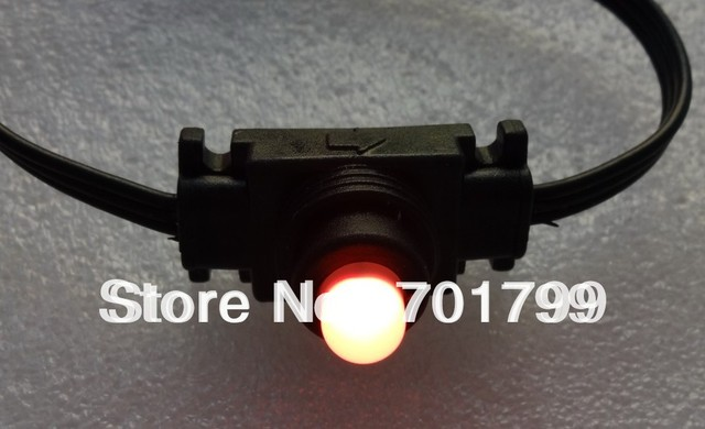 50nodes DC12V WS2811 LED technicolor pixel;waterproof, full color