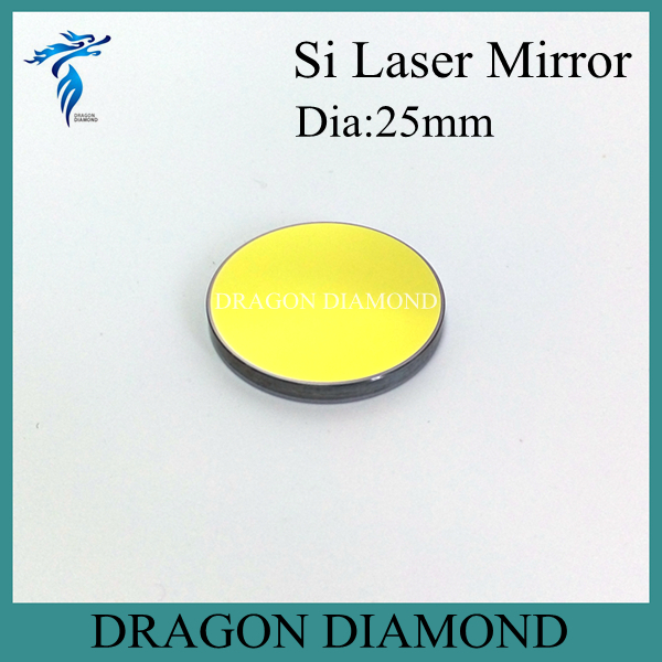 High reflectivity Co2 laser mirror 25mm dia for laser cutting and engraving machine(China (Mainland))