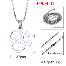 Vnox Rainbow Flag Military Dog Tag Necklace & Pendant Men Woman Stainless Steel Chain Jewelry Fashion Friend Gift 10pcs/lots(China)