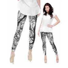 Zohra Brand Fashion Camo Branches 3D Printing High Quality Slim Legging Women Casual Home Leggings Woman Pants(China)