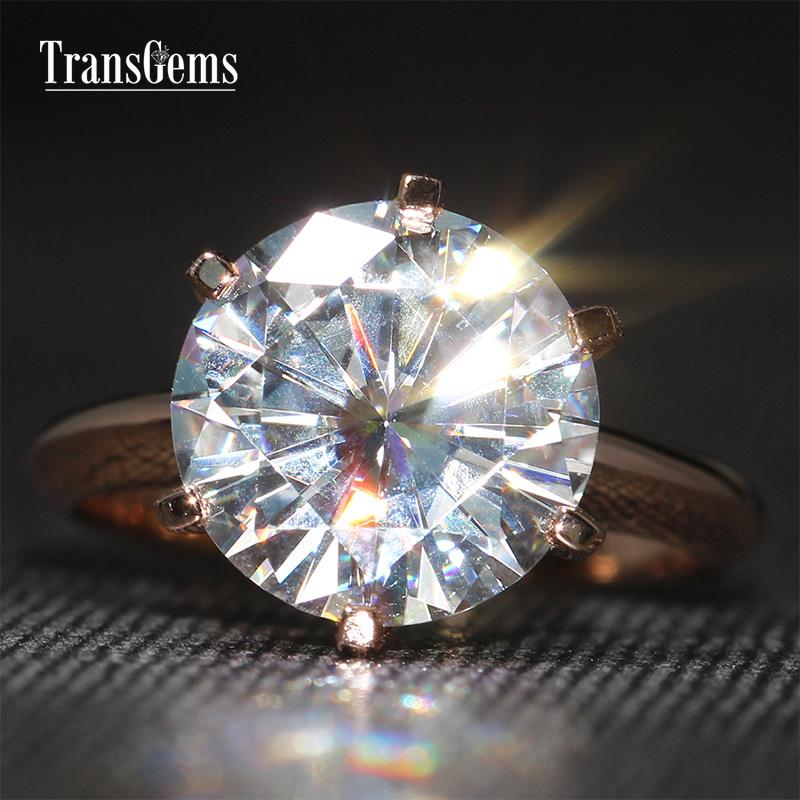 5 Carat Round Cut Engagement Rings  Five Carat  Ritani