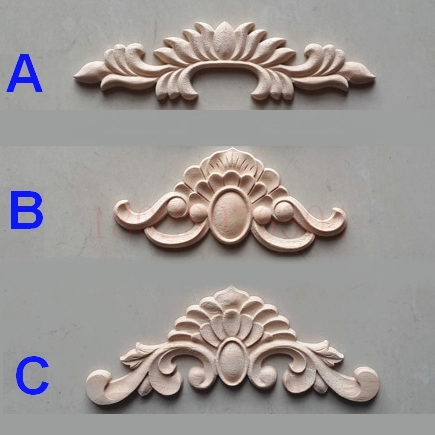 Wood Flower Applique