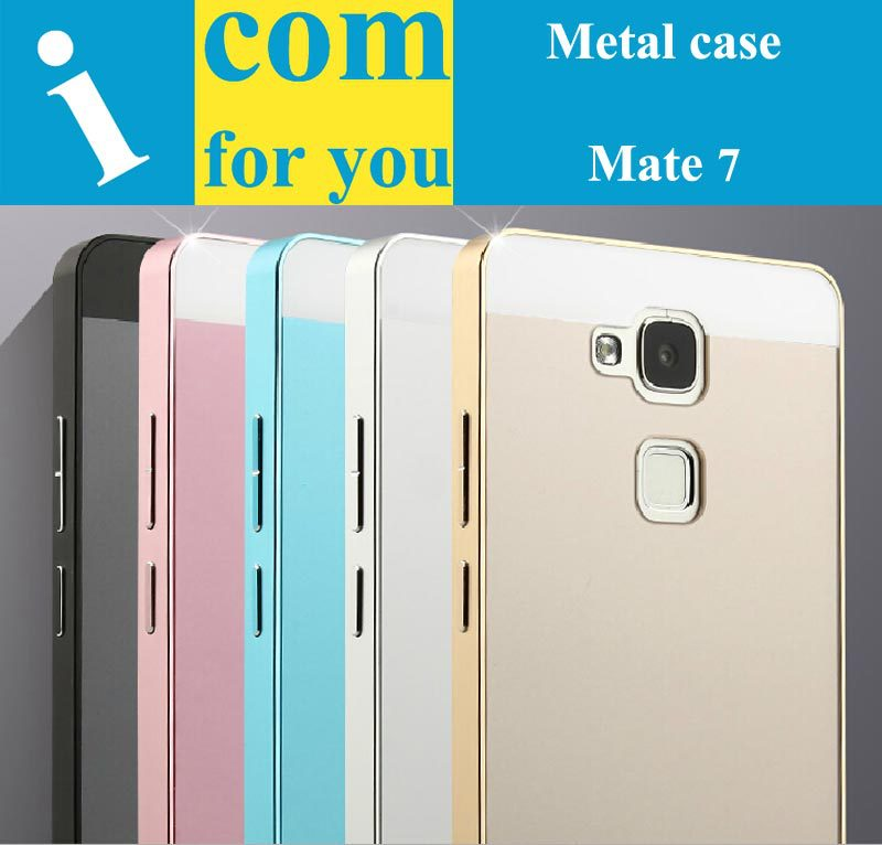 Luxury Aluminum Metal Protector case cover Huawei Ascend Mate 7 - Shenzhen icomforyou Co.,ltd Store store