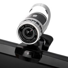 360 Degree Rotatory Auto Focus HD Webcam Clip-on Web PC Camera with MIC for Home Office(China (Mainland))