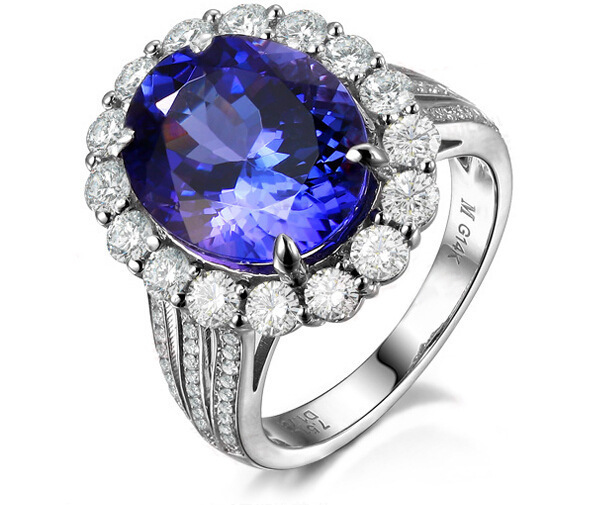 3 carat 925 sterling silver ring high end sapphire for Man made sapphire jewelry