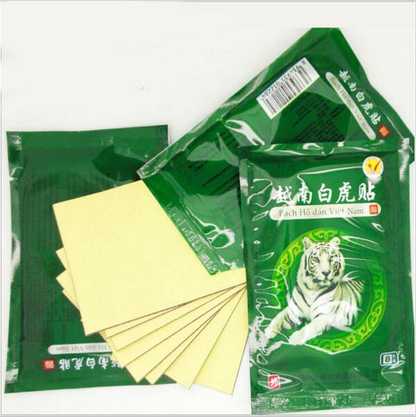 32pcs/lot Vietnam White Tiger Balm Muscle Rthritis Neck Body Massage Relaxation Capsicum Rheumatism Plaster Pain Patch MR0013