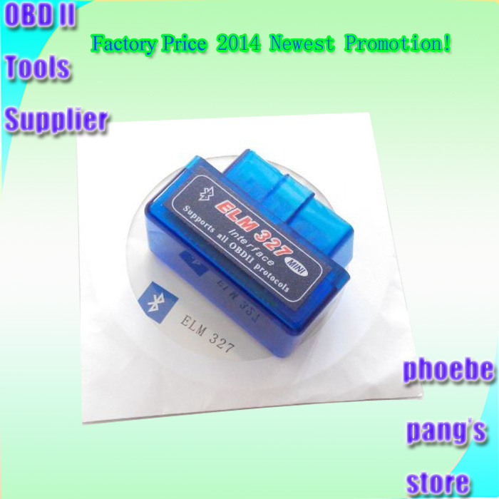Latest Version V2.1 Super Mini ELM327 Bluetooth OBD 2 Scan ELM 327 Android For Multi-brands CAN-BUS Supports All OBDII Protocols(China (Mainland))
