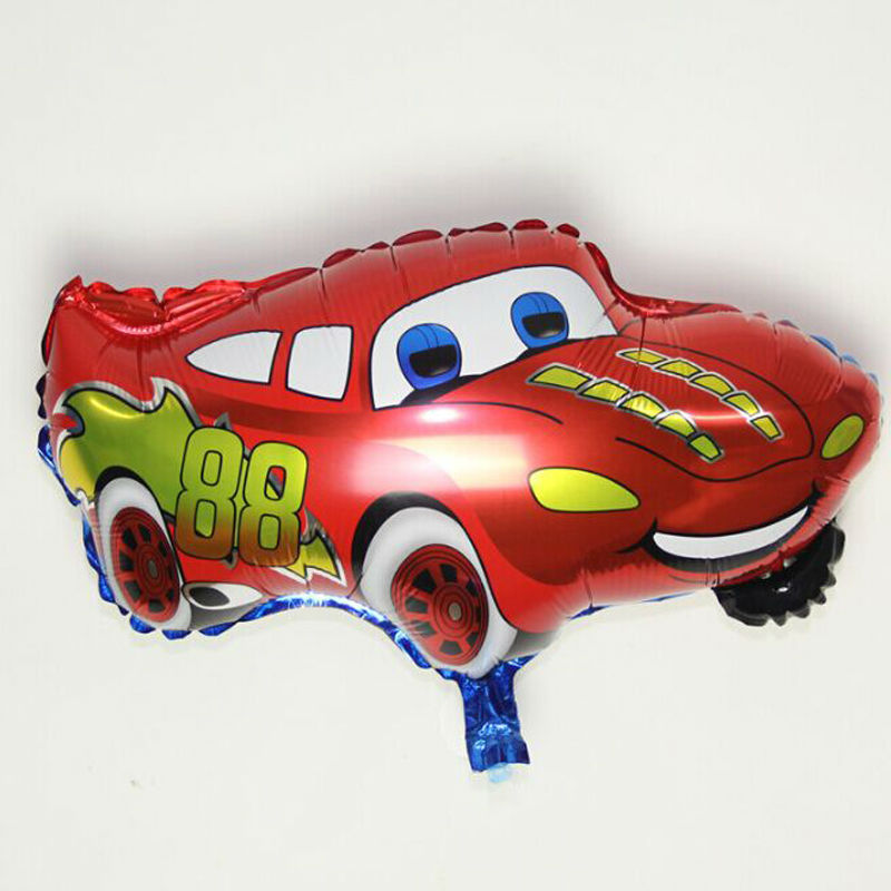 1PCS Cartoon Red Blue Color Cars Foil Balloon Happy Decoration Gifts Toy<br><br>Aliexpress