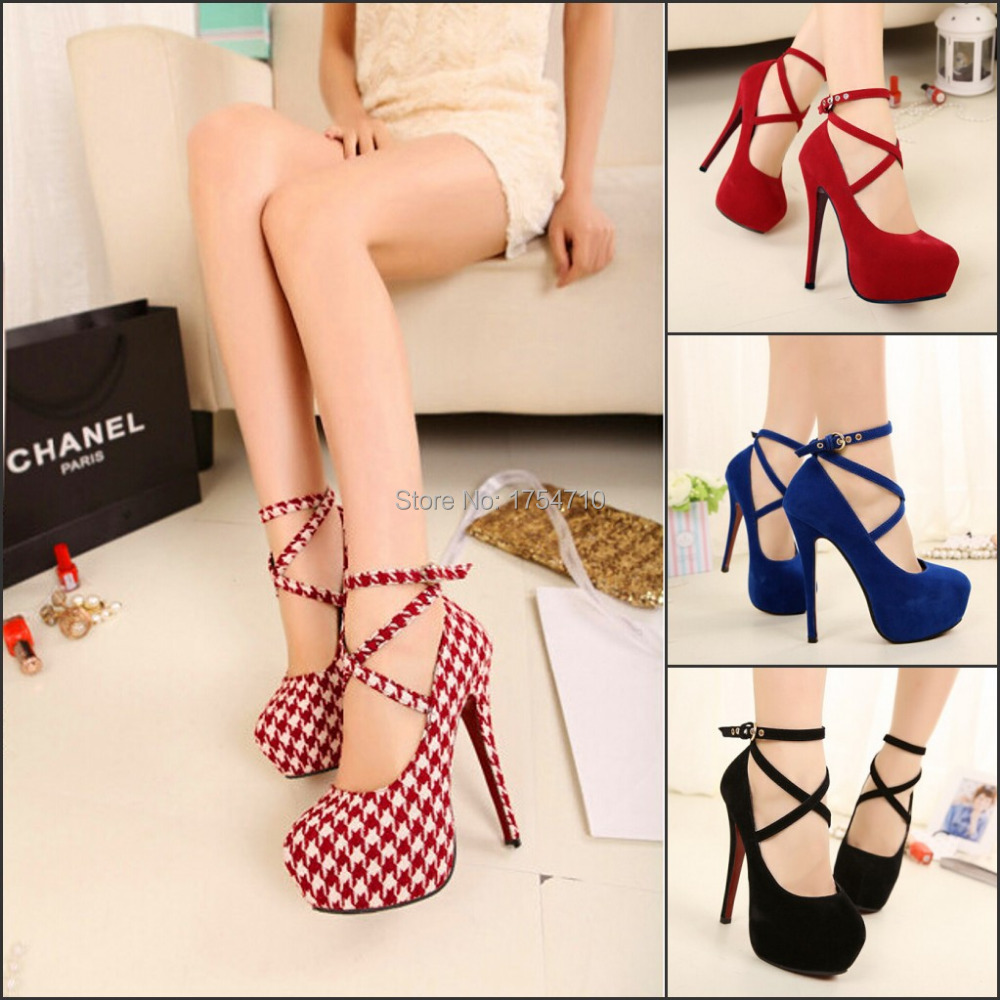 2016 Hot New style women's sexy high heels shoe alternate strappy stiletto high heeled sandals popular ladies celebrity shoes(China (Mainland))
