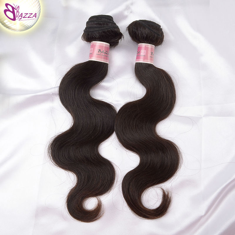 bazza hair 2pcs the best hair vendors soft and smooth malaysia body wave virgin hair extension highly feedback hair exporter(China (Mainland))