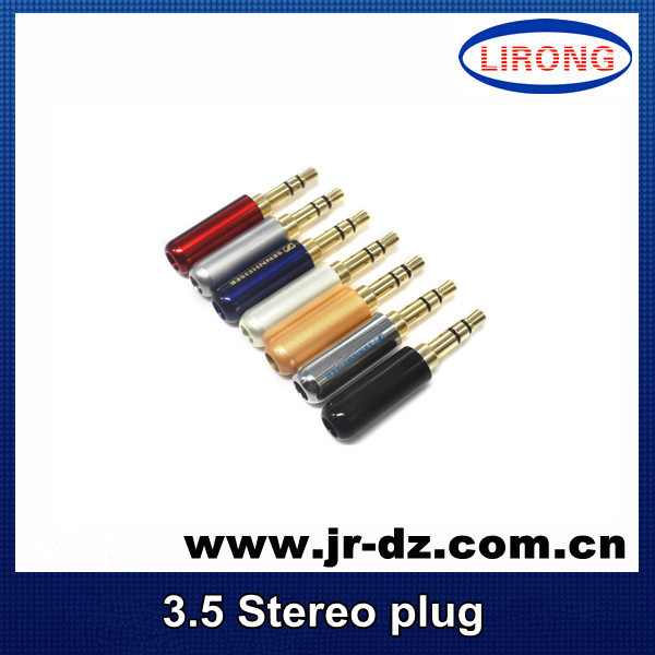 Good Quality 3.5 mm Audio jack connector gold-plated plug - Chaozhou Xiangqiao District Lirong Electronics Factory store