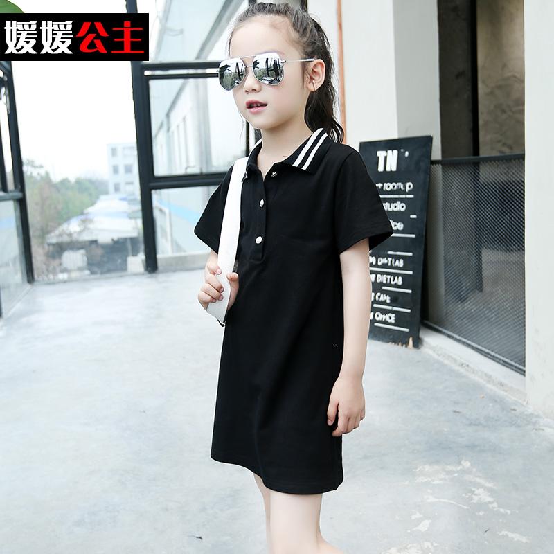 Children's wear new 2016 girls summer short-sleeved dress Big girl children's recreational 4-13 age  -  balabala11 store