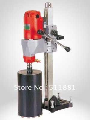 7'' 180mm DESKTOP Core Drill Machine and 2.5'' 63mm concrete wall dry core drill bits| with protect switch | 14kg NET weight(China (Mainland))