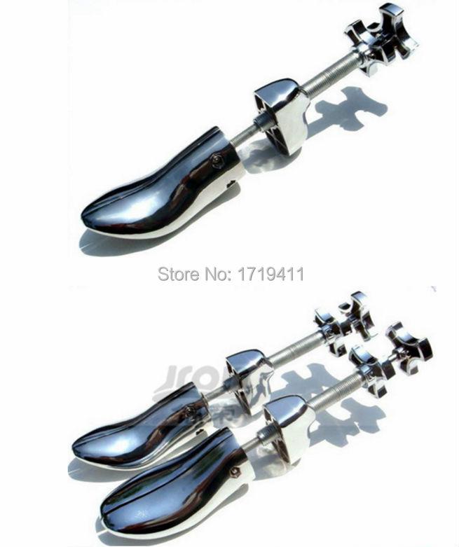 1 Piece 100% Aluminum Steel New Arrival Plastic Adjustable Men and Women Shoe Stretcher 2Way Wooden Shoes Shaper Adjustable Tree