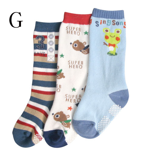 Infant kid's socks spring baby socks baby boy socks long socks baby socks