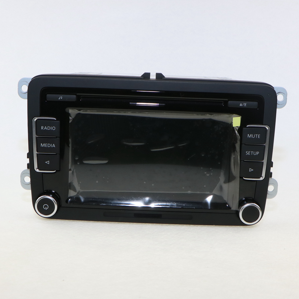 OEM Original Car Radio RCD 510 RCD510 CD MP3 AUX USB Code VW NEW POLO Jetta Golf 6 GTI MK6 Passat B6 B7 Tiguan 5ND035190A - Jinxin Auto Parts Co., Ltd. store