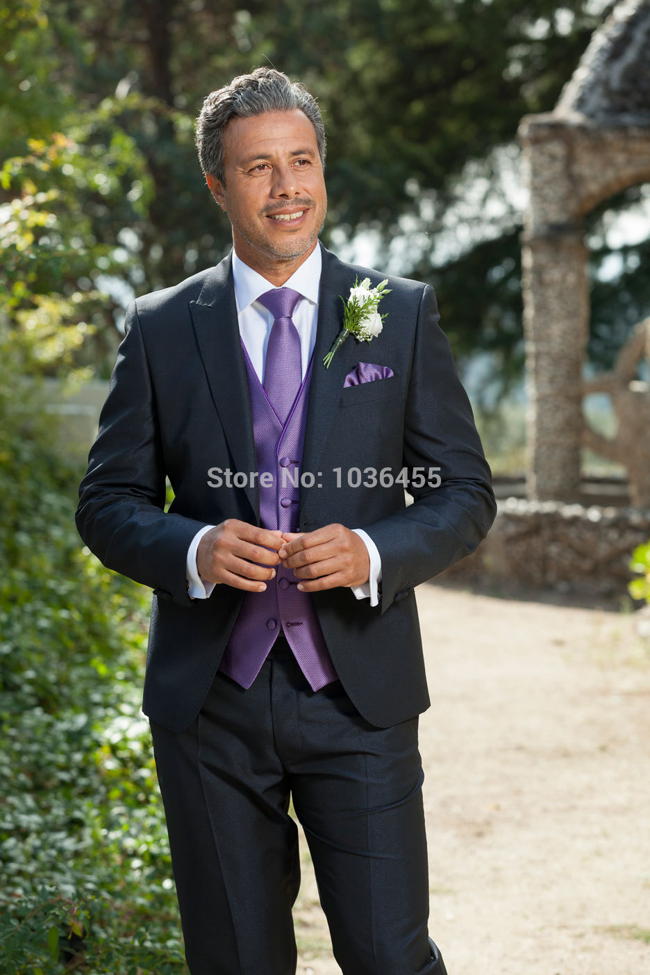 2017 Customized mens tuxedo jacket Wedding suits Mens Suit Groom Tuxedos best men Suits Jacket+Pants
