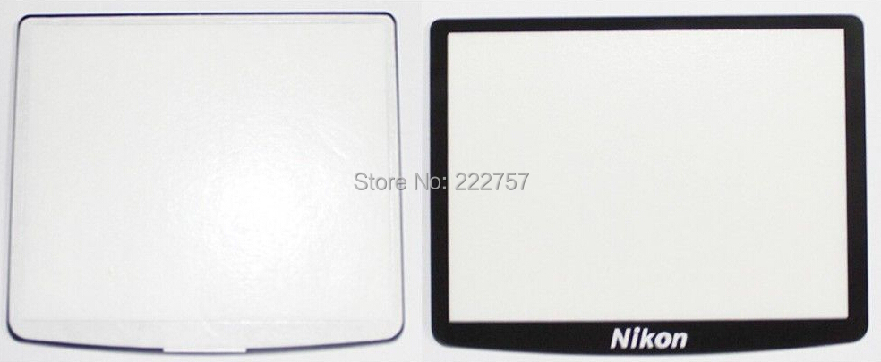 Free shipping NEW LCD Screen Display Window Glass Replacement Repair part for Nikon DSLR D90 camera