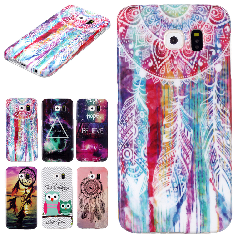 5 Styles Cute Elegant Fashion Mobile Phone Cases Rubber Soft TPU Case Cover For Samsung Galaxy S6(China (Mainland))