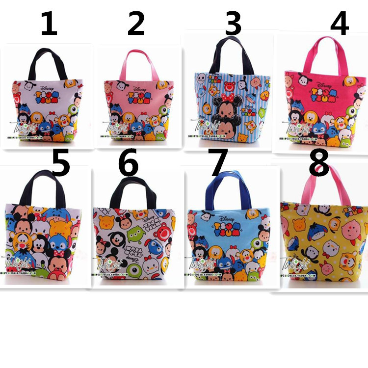 Tsum Lunch Bag Cartoon Hand bag Zipper - YIWU Market Store store