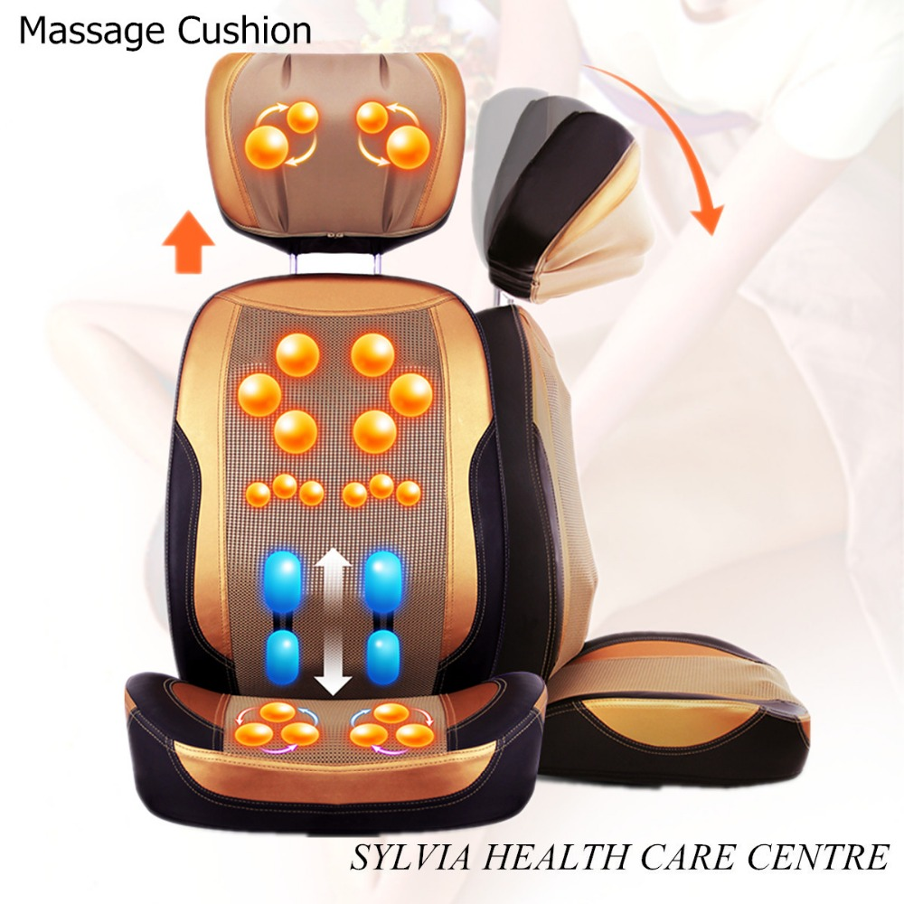 2017 Hot Vibrating Kneaking Infrared Massage chair cushion / Massager Cushion Seat