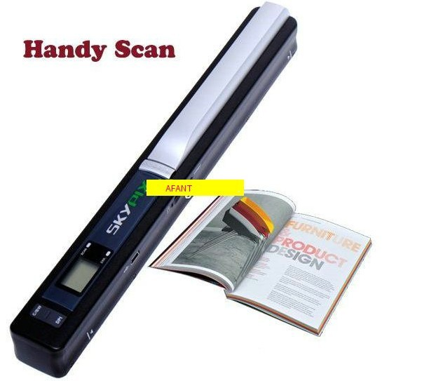 NEW! Wireless Portable Scanner SKYPIX TSN410 Handheld Scanners Handyscan Color Hand film Scanner document photo scanner