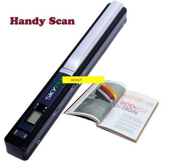 NEW! Wireless Portable Scanner SKYPIX TSN410 Handheld Scanners Handyscan Color Hand film Scanner document photo scanner