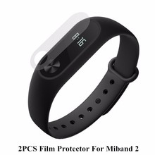 Buy Stock! Protector Film Ultrathin Anti-explosion Screen Protector Film Xiaomi Mi Band 2 Smart Wristband Bracelet Fast Ship for $1.29 in AliExpress store