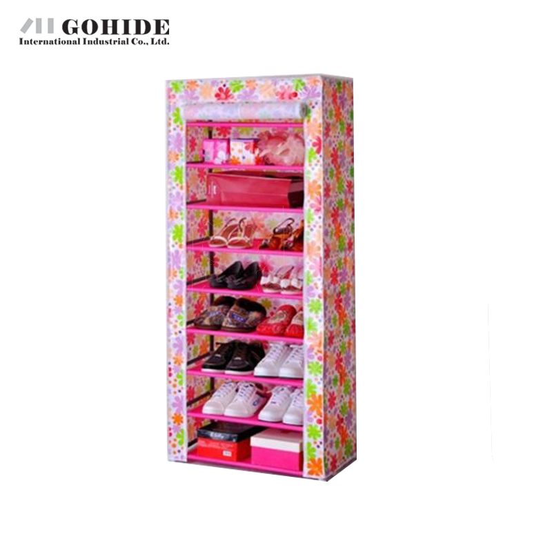 Здесь можно купить  Cloth simple shoe storage hanger 10 40s-the belt folding shoe hanger storage cabinet  Мебель
