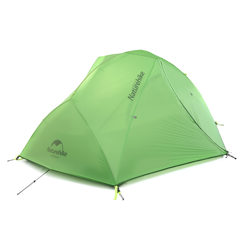 NH 2 Person Ultralight 20D Nylon UV Aluminum rod water proof 8000 hiking trekking cycling fishing beach outdoor camping tent<br><br>Aliexpress