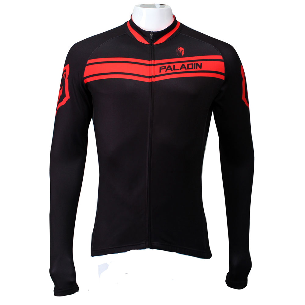 New arrival 2015 paladin men long sleeve cycling jersey only bicycle