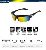 мужчины вождения Мотокросс велосипедов Велоспорт новые очки очки 3 сменный объектив велосипед gafas де Соль