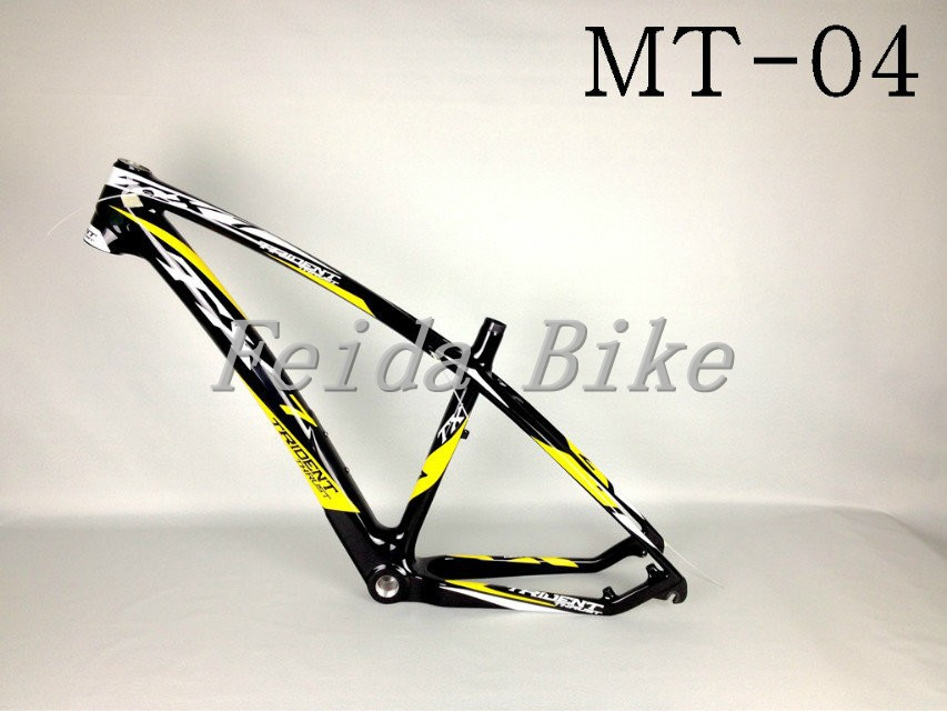 2015 TRIDENT THRUST 2015 Newest Carbon Mountain Bike Frame Full Carbon Fiber Bicycle Frames MTB Parts 15.5/17.5/19.5(China (Mainland))