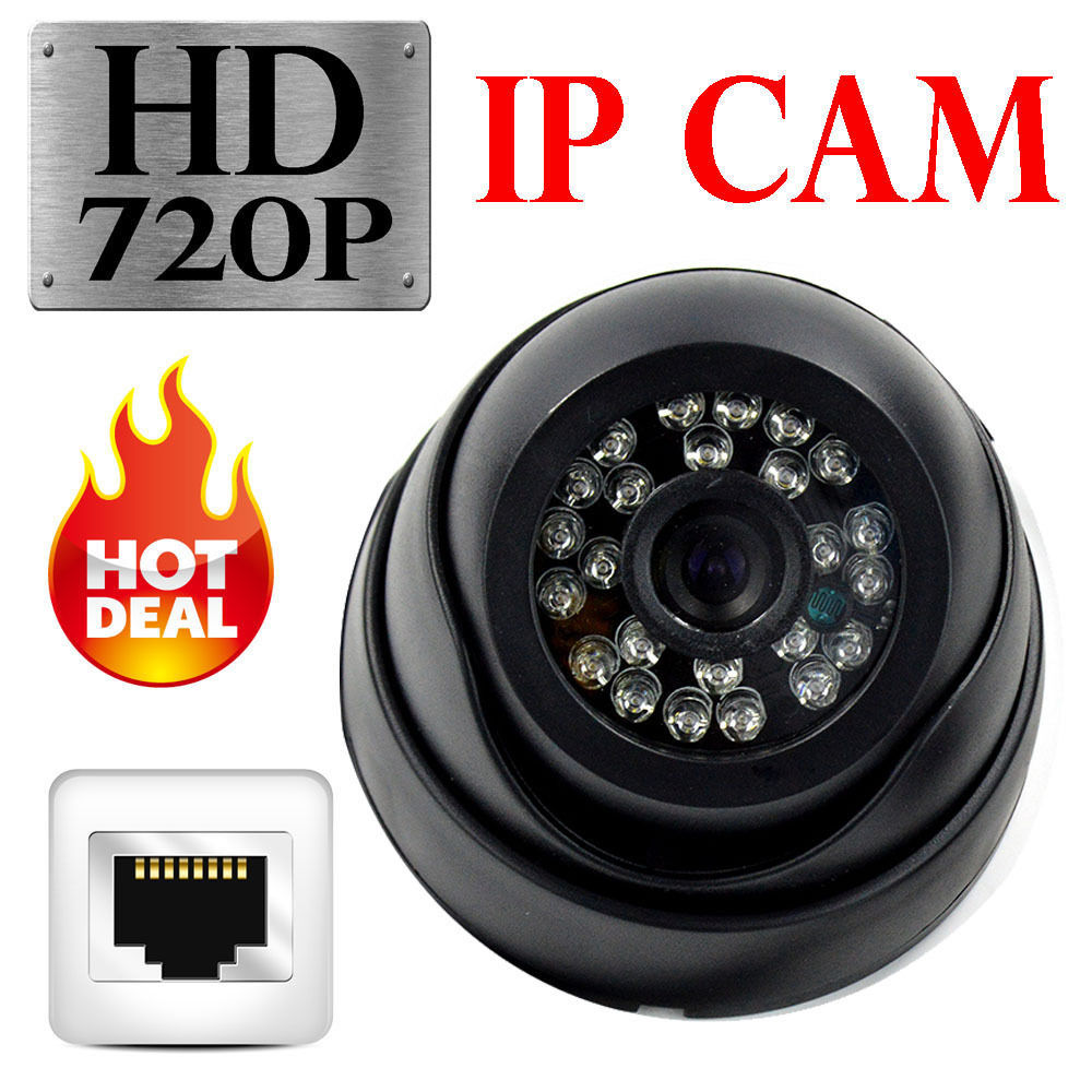 2015 New 720P Indoor IP Camera 1.0MP Mini Dome Network Camera for Android &amp; iPhone 3.6mm Lens with IR Cut CCTV Camera Onvif P2P<br><br>Aliexpress