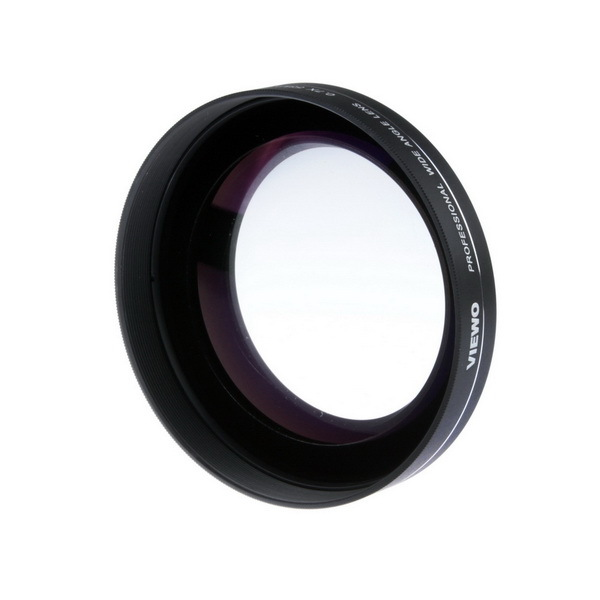 0.7X 52MM VIEWO Wide Angle Lens For Canon / Nikon / Pentax / Panasonic Cameras(China (Mainland))