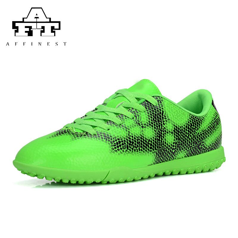2016 TF Men's Football Boots Rubber Fashion Outdoor Sport Male Soccer Cleats botitas de futbol originales(China (Mainland))